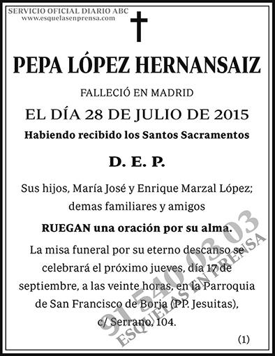 Pepa López Hernansaiz